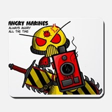 Angry Marines Mousepad