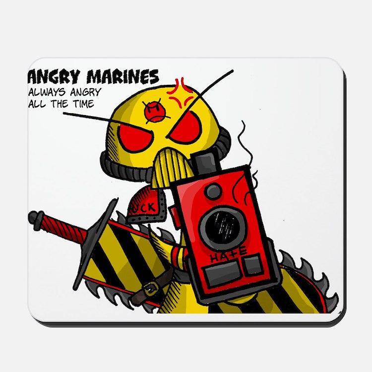 Angry Marines Mousepad