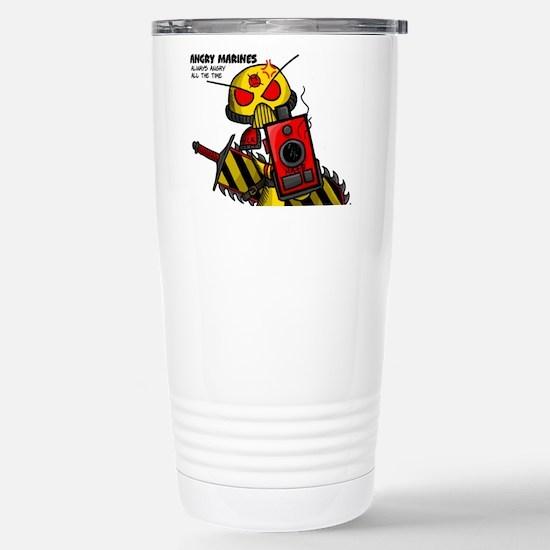 Angry Marines Stainless Steel Travel Mug