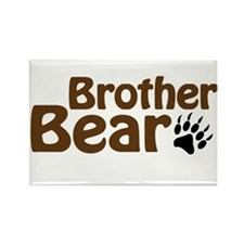 Brother Bear Rectangle Magnet