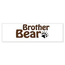 Brother Bear Bumper Sticker