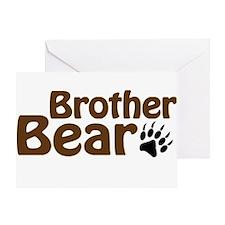 Brother Bear Greeting Card