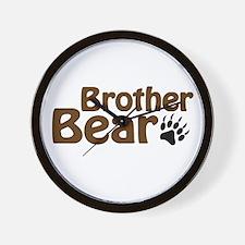 Brother Bear Wall Clock