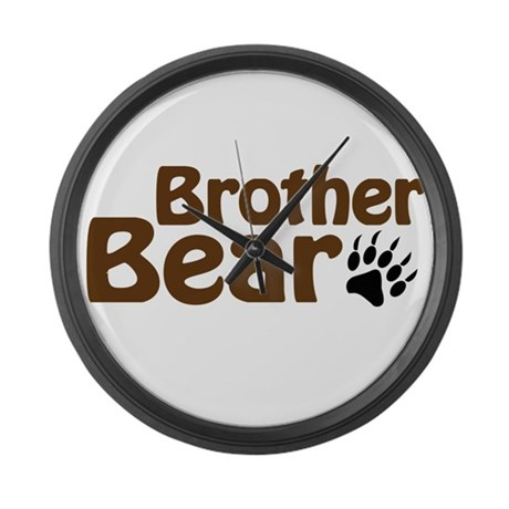 Brother Bear Large Wall Clock