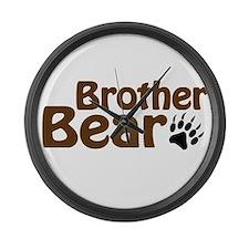 Brother Bear Large Wall Clock
