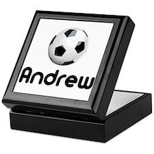 Soccer Andrew Keepsake Box