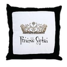 Princess Sophia Throw Pillow