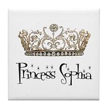 Princess Sophia Tile Coaster