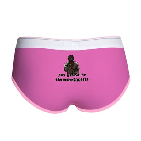 You gonna be the wormface! Women's Boy Brief