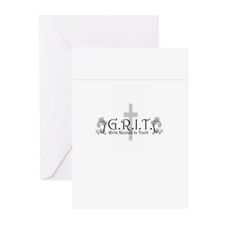 G.R.I.T. Greeting Cards (Pk of 10)