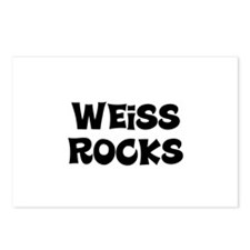 Weiss Rocks Postcards (Package of 8)