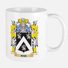 Rain Family Crest - Coat of Arms Mugs