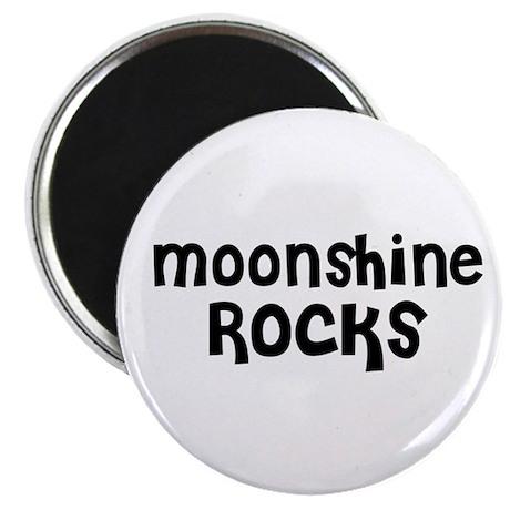 Moonshine Rocks Magnet