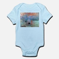 Iconic Claude Monet Impression, Sunrise Body Suit