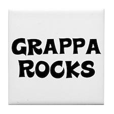 Grappa Rocks Tile Coaster