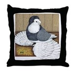 Andalusian English Trumpeter Throw Pillow