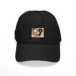Jacobin Pigeons Black Cap