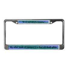 Enterprise/Death Glider License Plate Frame