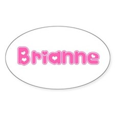 """""""Brianne"""" Oval Decal"""
