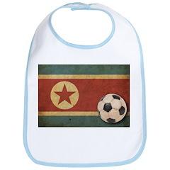 Vintage North Korea Football Bib