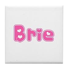 """Brie"" Tile Coaster"