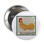 """Minorca Rooster #2 2.25"""" Button (100 pack)"""