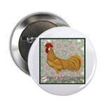 """Minorca Rooster #2 2.25"""" Button"""