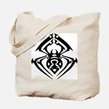 Tribal Tattoo Spider Tote Bag