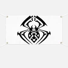 Tribal Tattoo Spider Banner