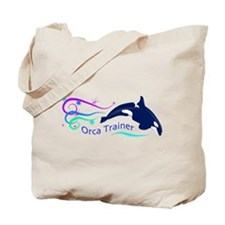 Orca Trainer Sparkle Tote Bag