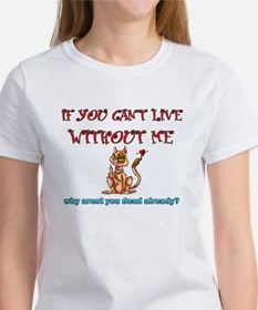 live without me Tee