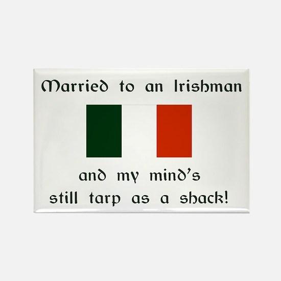 """Married To An Irishman Magnet (3""""x2"""")"""
