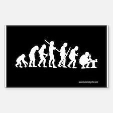 True Evolution... Sticker (Rectangle)