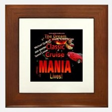 Woodward Cruise Mania Framed Tile