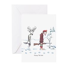 Passing The Buck Greeting Cards (Pk of 10)