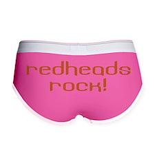 Redheads Rock Women's Boy Brief
