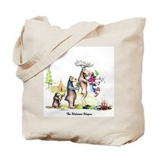 Unique Moose camping Tote Bag