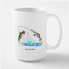 Catch & Release Large Mug