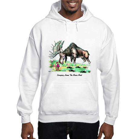 Bringing Home The Moosemeat Hooded Sweatshirt