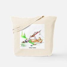 Cute Funny fishing Tote Bag