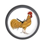 Minorca Rooster Wall Clock