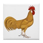 Minorca Rooster Tile Coaster