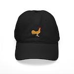 Minorca Rooster Black Cap