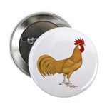 """Minorca Rooster 2.25"""" Button (10 pack)"""
