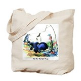 Fishing Canvas Totes