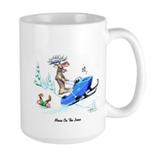 Moose on The Loose T Shirts Mug