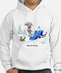 Moose on The Loose T Shirts Hoodie