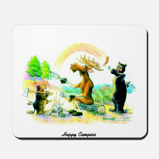 Happy Campers Mousepad
