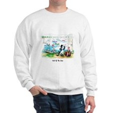 Cute Fishing cartoon Sweatshirt