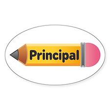 School Pencil Principal Decal